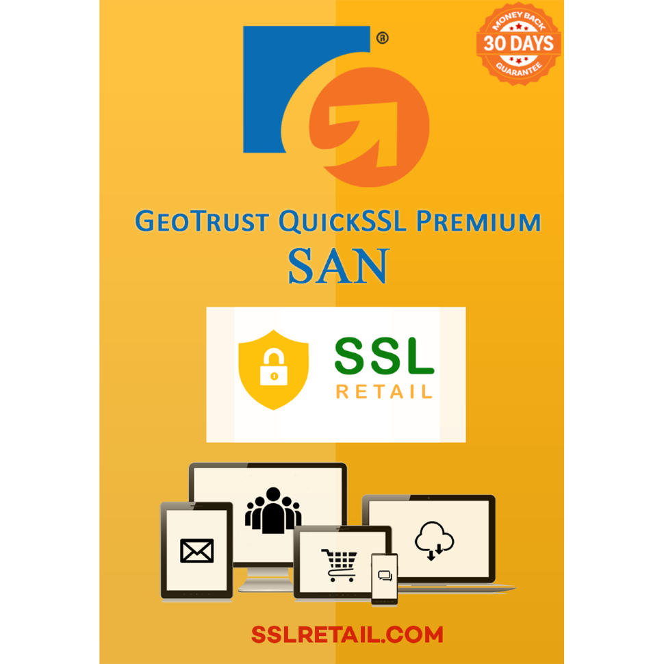 GeoTrust QuickSSL Premium SAN Multi-Domain