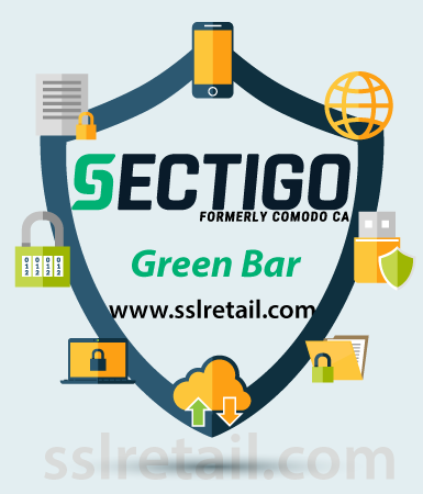 Sectigo Green Bar SSL Certificate (EV SSL)