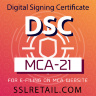 DSC for MCA21 e-filing - by eMudhra