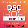 DSC for Income Tax Return Filing - (With USB Token)
