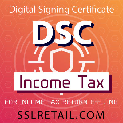 DSC for Income Tax Return Filing