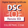 DSC for Customs Remote EDI Filing