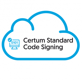 Certum Standard Code Signing Certificate in the Cloud