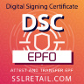 Digital Signature (DSC) for PF or EPFO