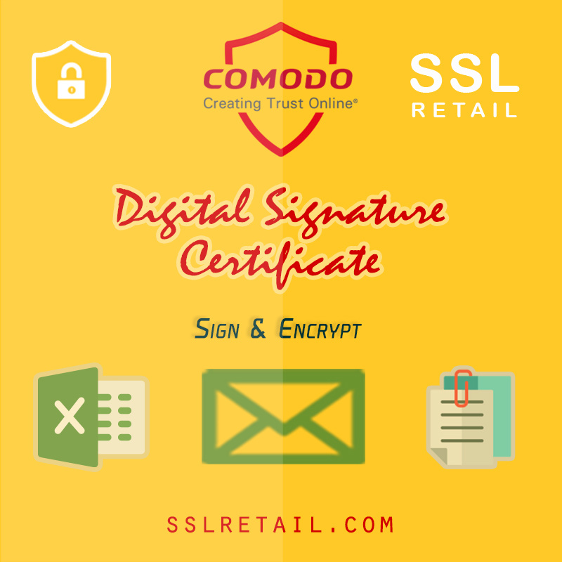 Comodo Email Digital Signature
